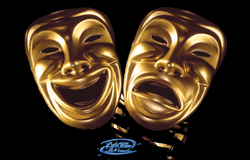Comedy and tragedy mask - PNG by lifeblue on DeviantArt