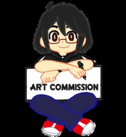 commission drawing artist