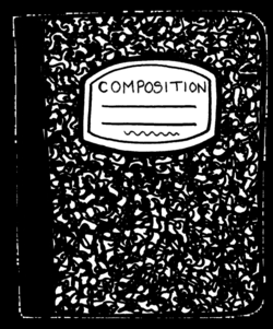composition notebook png
