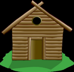 cottage clipart campground
