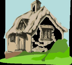Cottage Clip Art at Clker.com - vector clip art online, royalty free ...