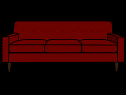 couch cartoon png