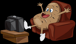couch potato png