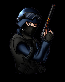 CSGO Counter-Terrorist (Commission) by ShadowVenom718 on DeviantArt
