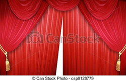 curtain clipart elegant
