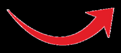 curved clipart red arrow