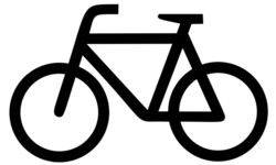 plain bicycle icon large - /recreation/cycling/bicycles ...