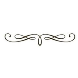 scroll clipart simple embellishment