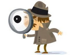 detective clipart street