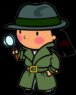 detective clipart student