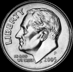 dime clipart american