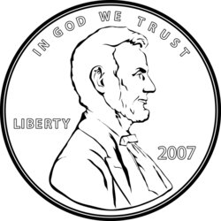 dime clipart penny