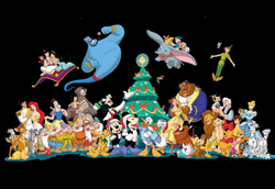 28+ Collection of Disney Christmas Clipart | High quality, free ...