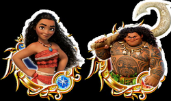 Image - Unchained X Moana Medals.png | Disney Wiki | FANDOM powered ...