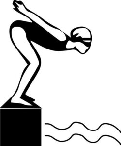 diving clipart swimming carnival