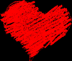 5 Scribble Heart (PNG Transparent) | OnlyGFX.com