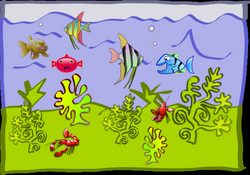 Aquarium Drawing For Kids at GetDrawings.com | Free for personal use ...