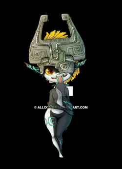 midna drawing imp