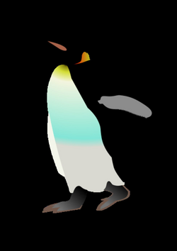 drawing penguins sketch