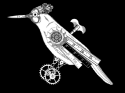 mad drawing steampunk