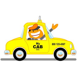driving clipart cab driver