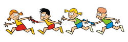 competition clipart relay game