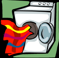dryer drawing clothes