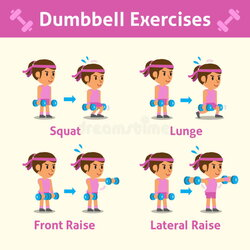 dumbbell clipart excersise