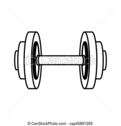 dumbbell clipart gym tool