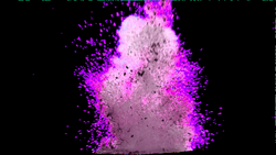 Purple fresh explosion dust effect elements 1191*670 transprent Png ...