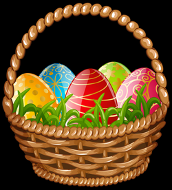 Easter Egg Basket Clipart at GetDrawings.com | Free for personal use ...