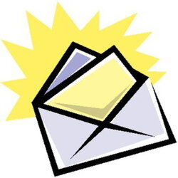 envelope clipart reference letter