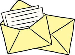 envelope clipart parent letter