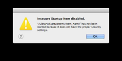 error transparent mac osx