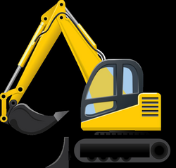 Excavator Clip Art Images Free For Commercial Use | Construction ...