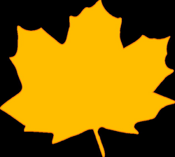 fall clipart yellow leave