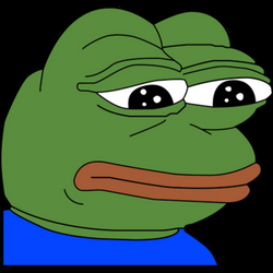 Sad Pepe FeelsBadMan transparent PNG - StickPNG