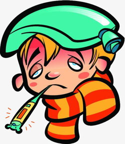 fever clipart today
