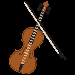 fiddle drawing cute