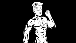 Green Lantern Comic Shading by TheIYouMe on Newgrounds