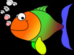 Comic Fish Clip Art at Clker.com - vector clip art online, royalty ...