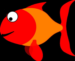 Happy Fish Clip Art at Clker.com - vector clip art online, royalty ...