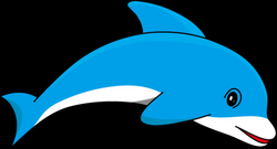 dolphin clip art with transparent background - Google Search | Kid's ...