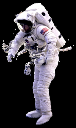 floating astronaut png