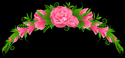 Pink Flowers and Roses Element PNG Clipart | Gallery Yopriceville ...