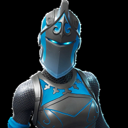 Frozen Red Knight - Outfit | fnbr.co — Fortnite Cosmetics