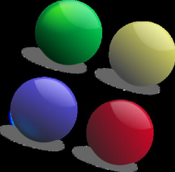 four clipart 4 ball