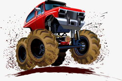 four clipart wheel drive