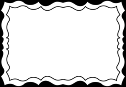 Black Picture Frame Border. Simple Picture In Black Picture Frame ...