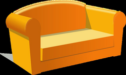 png cartoon couch